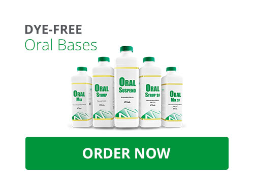 Dye-fee Oral Bases from MEDISCA – with over 20 BUD studies completed, our Oral Bases combine quality and innovation. Get your today.