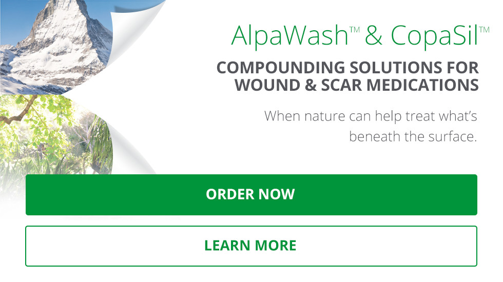 Advanced compounding solutions for wound and scar medications