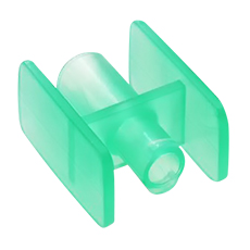 LUER-LOCK TO BAG PORT RAPID FILL CONNECTOR (Green, Sterile)