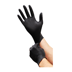 GLOVES (Black, Size 6 – 6.5 (Small))