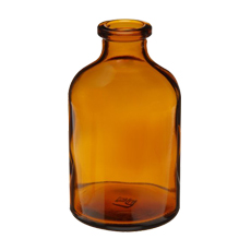 SERUM BOTTLE (Amber, 30 mL, 20 mm, Non-Sterile)