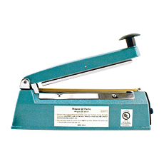 "IMPULSE BAG HEAT SEALER, MIDWEST PACIFIC (8"" Seal Length)"