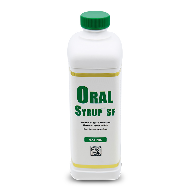 ORAL SYRUP, SF (Sugar-Free Flavoured Syrup Vehicle)