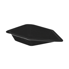"WEIGH CANOE, ANTISTATIC, 2.1"" × 1.5"" × 0.5"""
