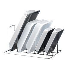 HOOD ACCESSORIES, TRAY HOLDER INSERT, STAINLESS STEEL