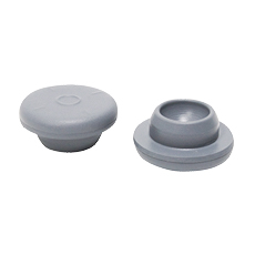 SNAP-ON STOPPER (Gray, 13 mm, Sterile)