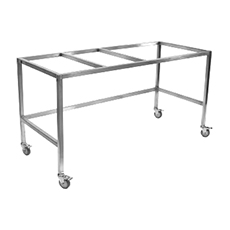 "BASE STAND w/CASTERS, FLOW SCIENCES (2 ft, 24"" × 24"")"