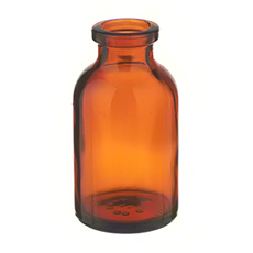 SERUM BOTTLE (Amber, 20 mL, 20 mm, Non-Sterile)