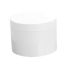 JAR w/DOUBLE WALL & LID (8 oz, 89 – 400)