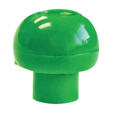 DISPENSER TIP CAP, PRECISEDOSE™ (Green)