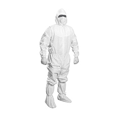 COVERALL (Large, Sterile)