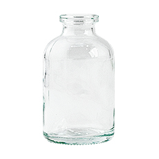 SERUM BOTTLE (Clear, 10 mL, 20 mm, Non-Sterile)