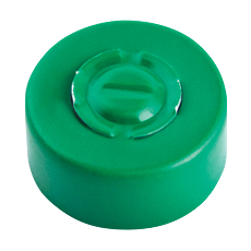 CENTER TEAR-OUT SEAL (Green, 13 mm)