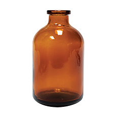 SERUM BOTTLE (Amber, 50 mL, 20 mm, Non-Sterile)