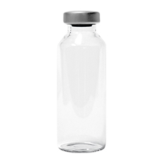 CLEAR GLASS VIALS, STERILE, 2 mL, 13 mm